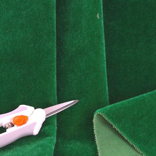 4mm Dense Straight Emerald Mohair