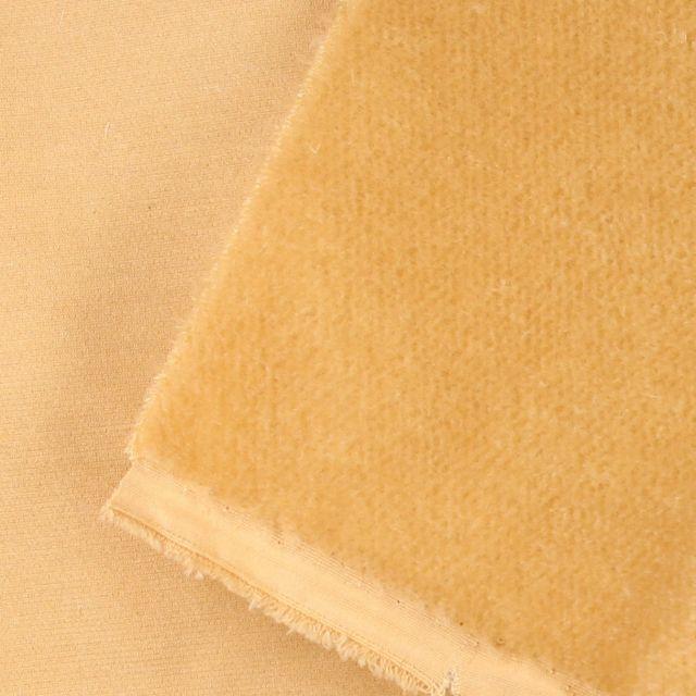 6mm Dense Straight Soft Butterscotch Mohair