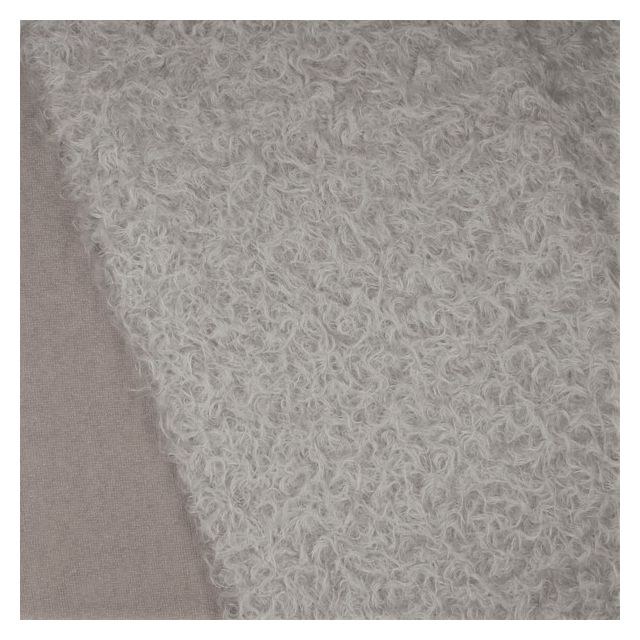 22mm Felted Pale French Grey Mohair - Not Schulte!