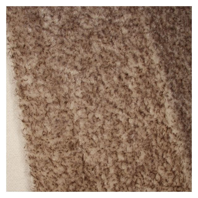 15mm Dense Oyster with Brown Tip Ratinee Mohair