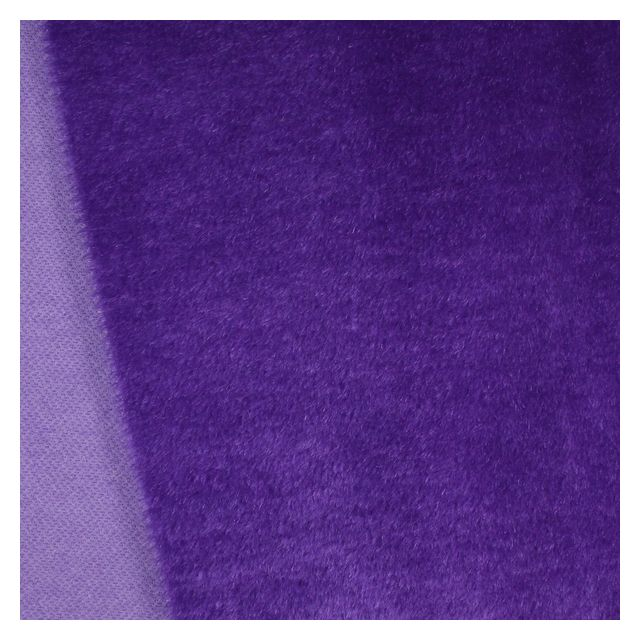 10mm Straight Rich Violet Mohair