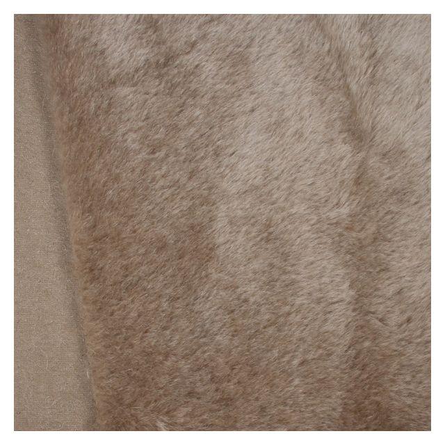 17mm Straight Husky Grey Mohair