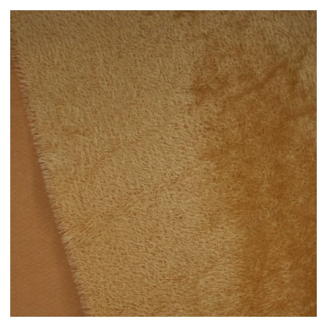 11mm Sparse Distressed Old Gold Mohair