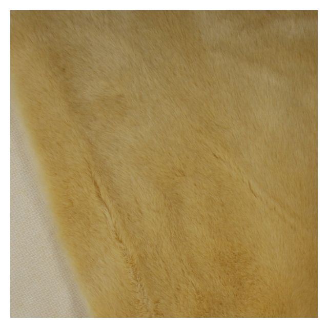 20mm Buttercup Synthetic Fur Fabric