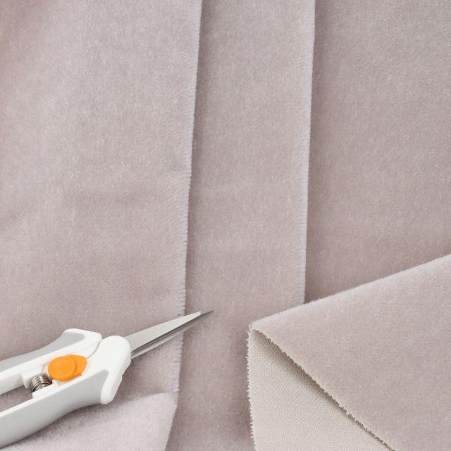 4mm Dense Straight Light Silver Grey Mohair