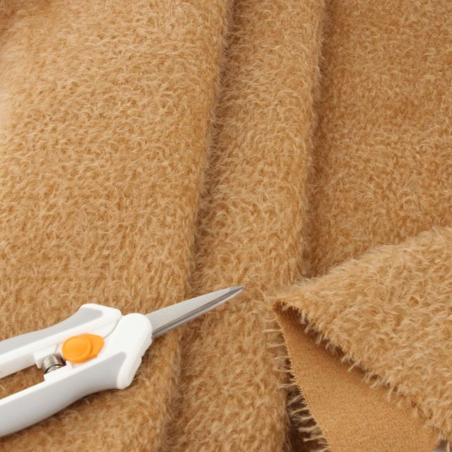 9mm Sparse Warm Camel Mohair
