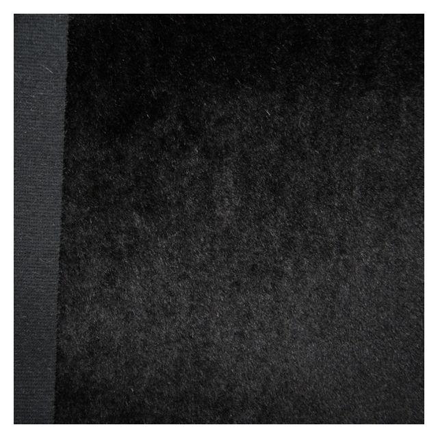 10mm Dense Straight Black Mohair