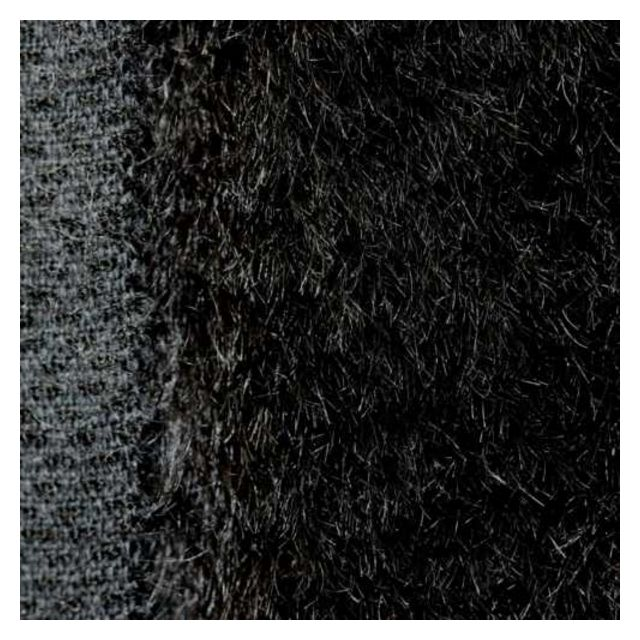 24mm Straight Black Mohair