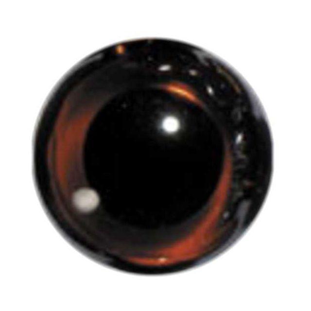 Dark Topaz English Glass Eyes