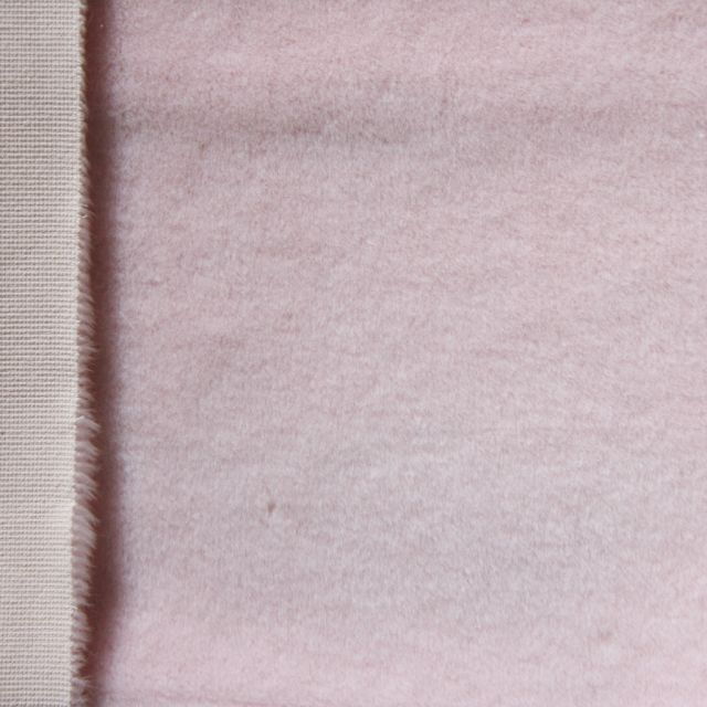 13mm Baby Pink Synthetic Fur Fabric