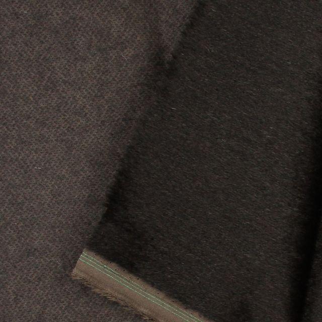 7mm Straight Dark Charcoal Mohair