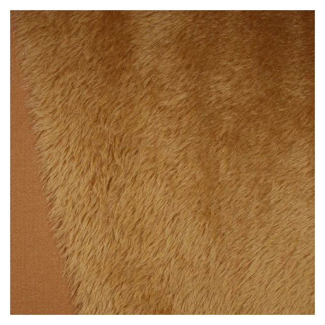 22mm Natural Laid Toffee Mohair