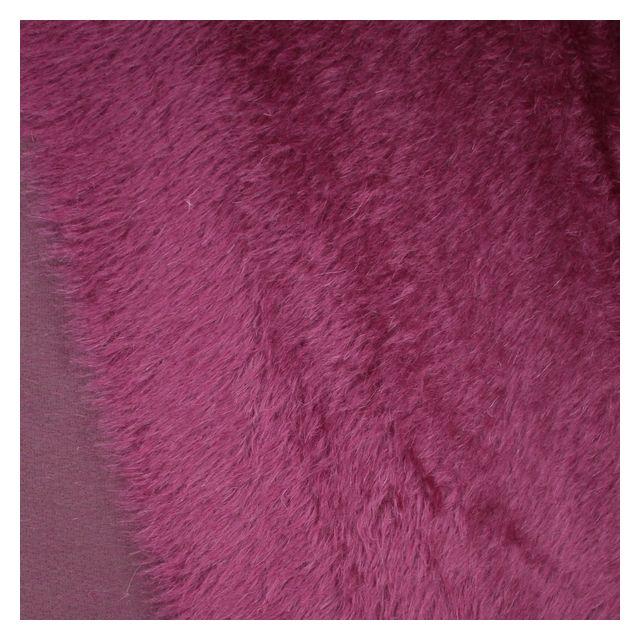 22mm Natural Laid Velvet Purple Mohair