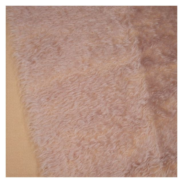 23mm Natural Laid Pretty Pink Mohair