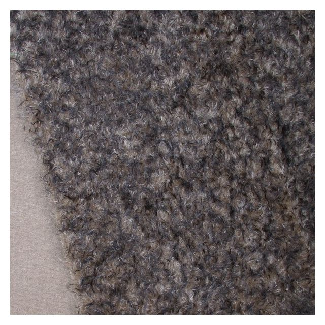 23mm Taupe with Black Tip Ratinee Mohair