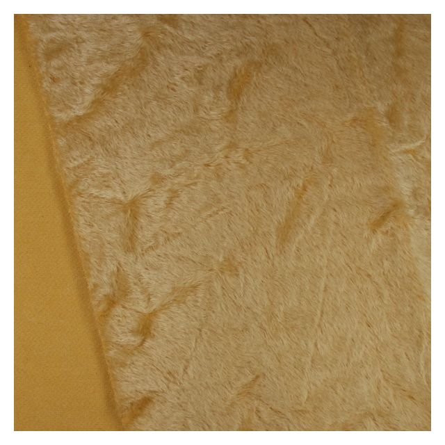 10mm Distressed Light Gold Mohair