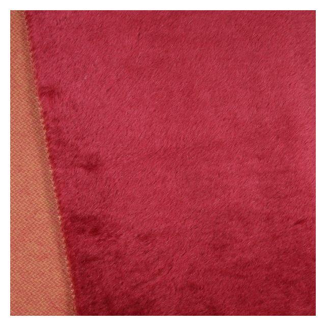 13mm Straight Dark Fuchsia Mohair