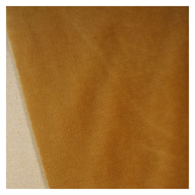 9mm Butterscotch Synthetic Fur Fabric
