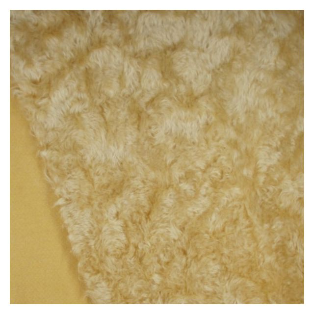 17mm Windswept Warm Gold Mohair